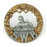 South Wales Borderers Cap Badge